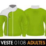 Collection DEMONTFAUCON<br>veste zip adulte<br>DMF0108