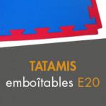 Tatamis emboîtables E20 à partir de 13,90€ TTC