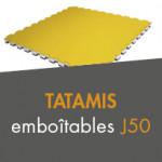 Tatamis emboîtables J50 à partir de 39,00€ TTC