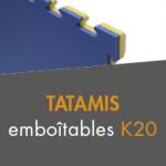 Tatamis emboîtables  K20 à partir de 21,00€ TTC