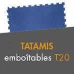 Tatamis emboîtables T20 à partir de 14,50€ TTC