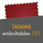 Tatamis emboîtables T25 à partir de 21,00€ TTC