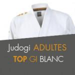 JUDOGI TOP GI BLANC