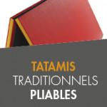 Tatamis pliables