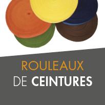 ROULEAUX DE CEINTURES